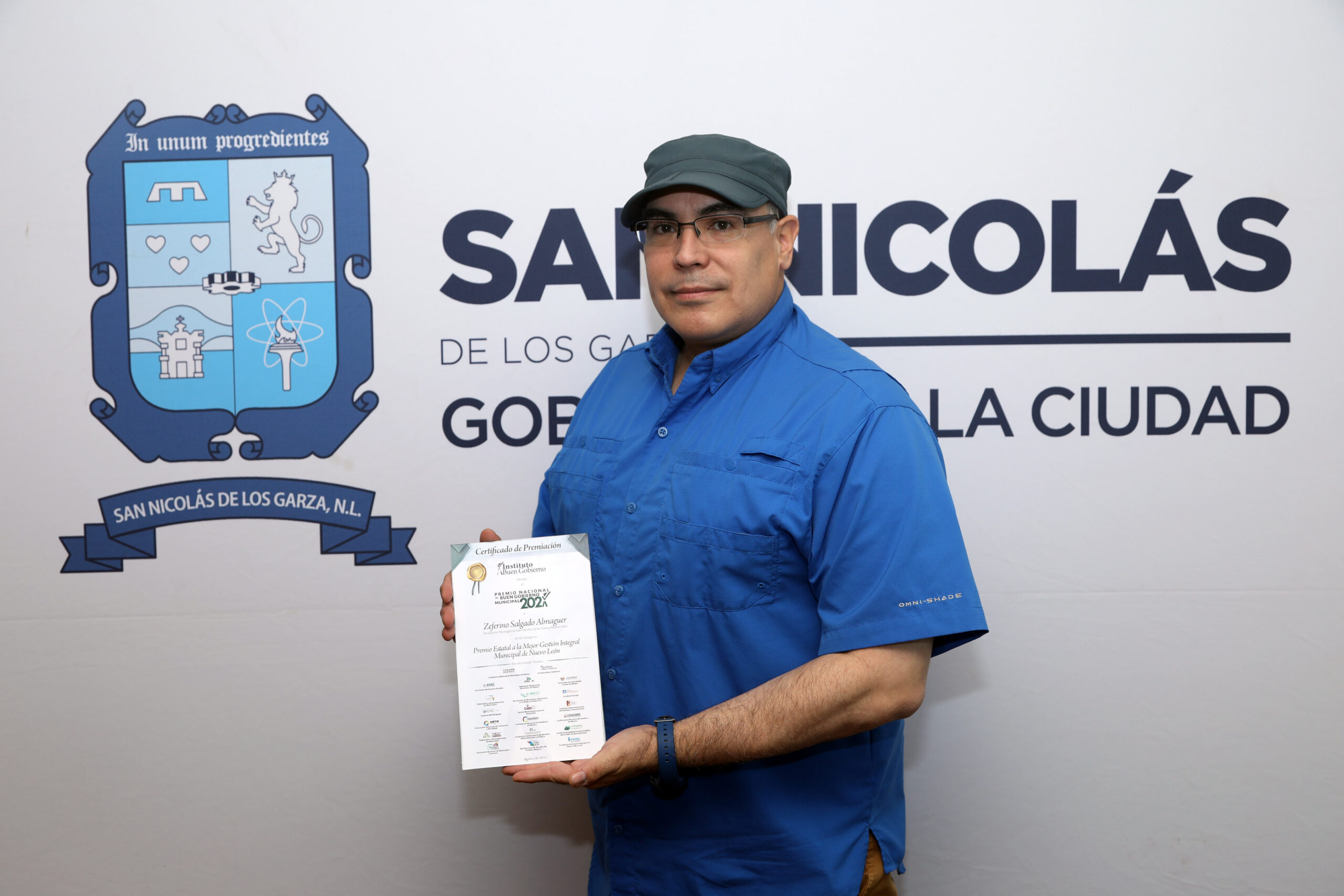 Reconocen a San Nicolás con el Premio  a la Mejor Gestión Integral Municipal del Estado